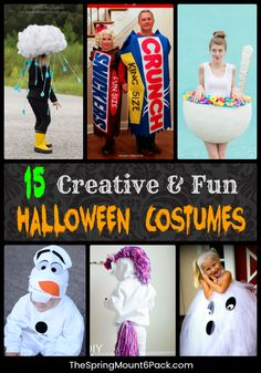 Halloween is all about the candy and the costumes. Try these simple DIY Halloween Costumes are great for making your own costumes Candy Costumes, Creative Halloween Costumes, Halloween Activities, Diy Costumes, Halloween Crafts, Halloween Party, Costume Halloween, Simple Costumes, Homemade Halloween