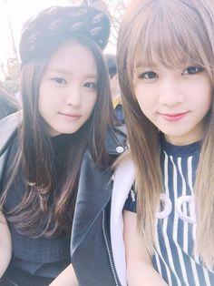 Naeun and Chorong