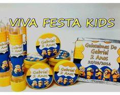Kit Festa Personalizada c/ 90 Unidades