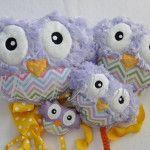 squishy owl family