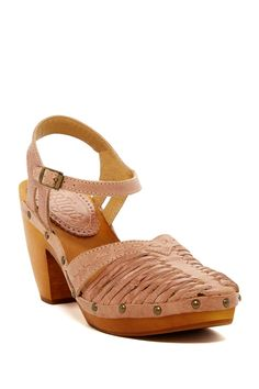 Latigo - Costa Stacked Heel Sandal at Nordstrom Rack. Free Shipping on orders over $100.