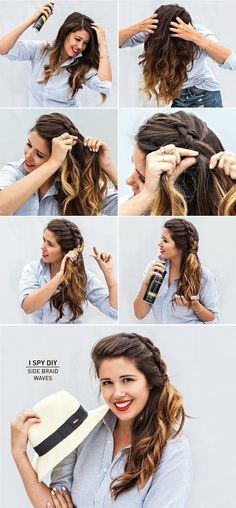 ASK THE EXPERT | Side Braid Waves. Not sure I have the volume to pull this off though and not look ridiculous.