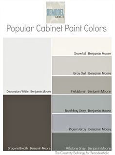 Trends in Cabinet Paint Colors - * Remodelaholic *