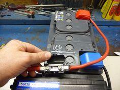 Instalación batería auxiliar con dos relés separadores para consumos en furgo camper Brico nº 110 Foto nº 33 En toda furgo c...