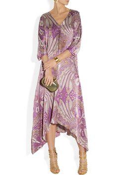 DAY Birger et Mikkelsen|Day Nyx printed silk-satin maxi dress|NET-A-PORTER.COM