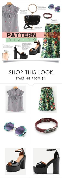 """Stay Bold: Pattern Mixing"" by mahafromkailash ❤ liked on Polyvore"