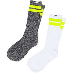 Crew Sock - Victoria's Secret ($13) ❤ liked on Polyvore featuring intimates, hosiery, socks, victoria secret socks, victoria's secret, victoria secret hosiery and crew socks