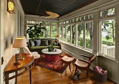 another sun room with great windows