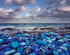 Artist's Trash Exhibitions Depict A Planet Colonized By Plastic