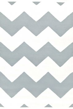 Dash & Albert | Chevron Light Blue/White Indoor/Outdoor Rug | We gave this traditional pattern a Dash & Albert style upgrade in an array of fresh colors and all-season polypropylene.