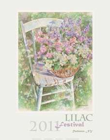 I'd love to attend a lilac festival....