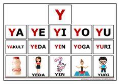 Atividades de Sílabas e palavras para imprimir Portuguese Lessons, Myla, Yin Yoga, Special Needs, Literacy, Homeschool, Playing Cards, Teacher, Education