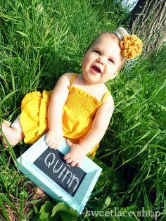 Any color--Mini Pillbox hat--Photo Prop--Newborn, baby, toddler headband--Crochet hat--Mini Top Hat--Crochet flower. $21.00, via Etsy.