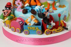 Mickey cu trenulet pentru Thea
