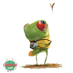Kai Fine Art is an art website, shows painting and illustration works all over the world. Tattoo Studio Interior, Childhood Stories, Fantasy Pictures, Cute Frogs, Character Portraits, Cute Characters, Creature Design, Animal Design, Animal Drawings