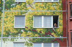 Berlin /2 weltrekord wandmalerei solidarität berlin