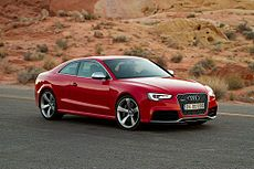 2012 Audi RS5 near the Elephant Rock in the Valley of Fire - Audi A5 - Wikipedia, the free encyclopedia
