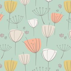 Floral Frolic Apricot