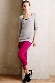 7fbbc2809ef Pure Good Compression Cropped Leggings  anthropologie