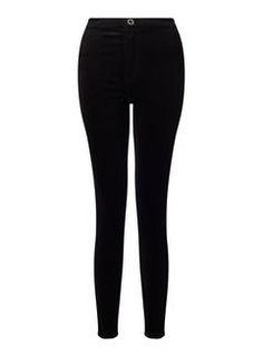 STEFFI Black Velvet Trousers