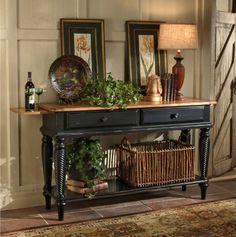 Hillsdale Furniture Wilshire Sideboard in Antique Black
