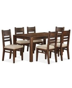 Avondale 7 Pc. Dining Room Set, Created For Macyu0027s, (Dining Table U0026 6 Side  Chairs)