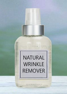 Are wrinkly clothes your biggest problem, specially when you are in a hurry or traveling?? Then here is a wrinkle releaser spray you can make...