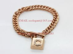 WLB0638 FreeShipping fashion stainless steel Unique Design bracelet with stone. rose gold bracelets for woman.good quality gift