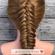 fishtail braid, want to have a try? Amazing work from 💕🥰 Braids videos Dutch fishtail braid tutorialDutch fishtail braid, want to have a try? Amazing work from 💕🥰 Braids videos Dutch fishtail braid tutorial Braids For Short Hair, Short Hair Styles, Dutch Fishtail Braid, Fishtail Braid Tutorials, Hair Upstyles, Braids With Extensions, Box Braids Hairstyles, Fishtail Braid Hairstyles, Hair Videos