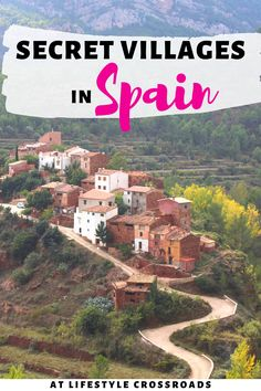 Spain is a unique travel destination because it´s either all about the big touristy names or the complete secret unknowns. Check this list of 10 secret villages in Spain you´ve never heard of. #spain #travel #villages   Spain beautiful villages   Secret small towns in Europe   Spain off the beaten track   Beautiful places in Spain   Hidden Gems in Spain   Spain Travel Tips   Spain Travel Guide   Spain Travel Destinations   Spain Beautiful places   Spain Bucket List Europe Travel Guide, Spain Travel, Travel Usa, Travel Guides, Best Places To Travel, Places To Go, Spain Destinations, Spain And Portugal, European Travel