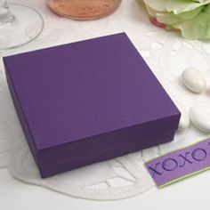 Unique Purple Favor Box are perfect for any purple, fall themed wedding. Click or call us toll-free Favors and Flowers offers bride's the most up-to-date wedding favor ideas from stylish favor packaging to hig Affordable Wedding Favours, Wedding Favors, Jordan Almonds, Find Color, Autumn Theme, Favor Boxes, Purple Wedding, Perfect Match, Lavender