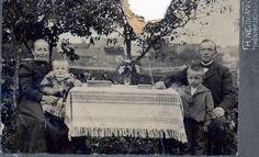 Herrmann Family, in Groß Stoboy, Kreis Elbing, Westpreußen, 1909