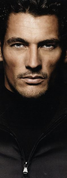 David Gandy - Men don't look this way again at all. It's rare. We women all wish ........ (sigh)