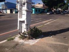 Blog do Osias Lima: Com estrutura danificada, moradores temem queda de...