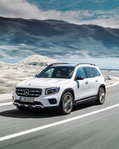 The 2020 Mercedes-Benz GLB, which will slot between the GLA and the GLC, offers a cabin. Is this new Benz what SUV buyers want? Mercedes Benz Suv, Mercedes A Class, Kanye West, Small Suv, Suv Trucks, Expensive Cars, Car Girls, Courses, Driving Test