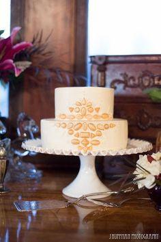 Pièce montée 2017  Art Deco Inspired #WeddingCake I Good Earth Floral Design Studio