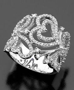 Diamond heart ring $3500