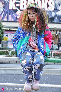 FASHION JAPAN: Ayaka (HASSHY) (Ikebukuro,Tokyo,BIBIDE BABIDE BOO,Phuket,Casual Isle,Disney,Question Mark)