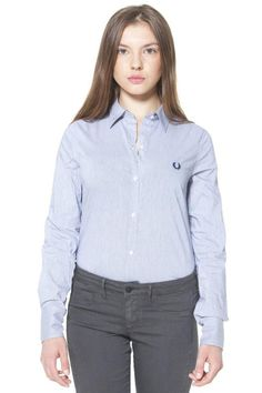 Camicia Donna Fred Perry (BO-31213605 V0031) colore Blu