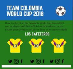 08726ba88ad Follow Mi Seleccion - Team Colombia (World Cup Russia 2018)