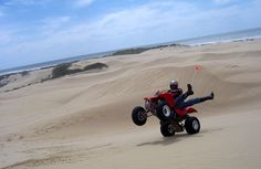 Pismo beach dunes! ridin' ATV's