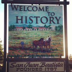 City of San Juan Bautista in California