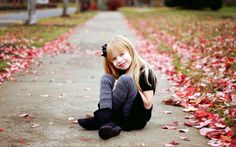 Autumn leaves and beautiful children photography wallpaper 5 wallpapers