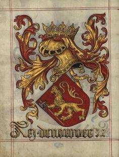 Livro do Armeiro-Mor - Rei da Noruega
