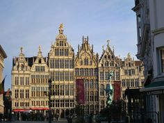 In the city's Historic Center you'll find Grote Markt, the main market square, site of the medieval guild houses. Follow the link to find out more.  http://mikestravelguide.com/things-to-do-in-antwerp-visit-the-market-squares-and-shopping-zones/