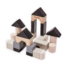 Mini Construction Set in color Diy Wooden Projects, Wooden Diy, Projects For Kids, Baby Building Blocks, Dog Quilts, Unique Toys, Hobby Horse, Design Department, Wooden Blocks