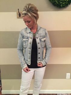 STITCH FIX - Kut from the Kloth Callie Denium Jacket