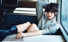 """As Arya Stark onGame of Thrones, Maisie Williams is all tomboy—short dirty hair, a favorite sword, and a thirst for vengeance. In real life, the now 18-year-old admits she sometimes relishes being girly. Relaxing at the St. Regis hotel in San Francisco before the drama's U.S. premiere, she talks about getting glammed up for the spotlight. """"It's fun for the other cast members to come downstairs at the hotel, and everyone's like, 'We all look so good!'"""" she says. """"Everyone feels great, we've…"""