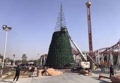 Muslim Businessman Erects 85-foot Christmas Tree in Solidarity With Christians   The Stream