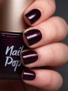 I do like a dark nail color!